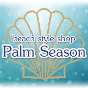 パームシーズン,PalmSeason,ロゴ, Instagram 用,ビーチ,リゾート,ファッション,アクセサリー,通販,沖縄